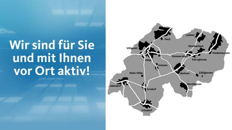 CDU in den Ortschaften
