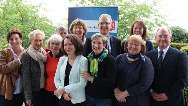 Frauen Union Wachtberg diskutiert Europapolitik mit Europakandidat Axel Voss
