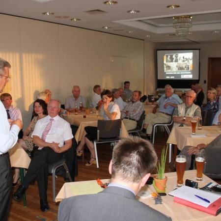 40 Jahre CDU in Wachtberg - Mitgliederversammlung in Niederbachem (August 2012)