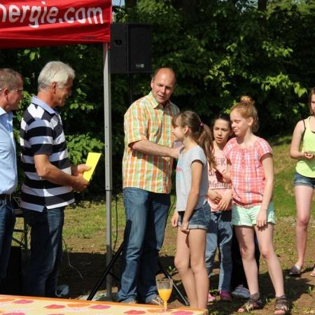 Eröffnung der neuen Beachvolleyballanlage am Schulzentrum Berkum (Mai 2014)