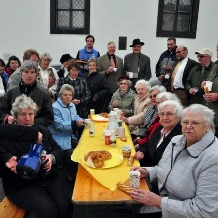 Frühschoppen zum Holzemer Patronatsfest (Mai 2012)