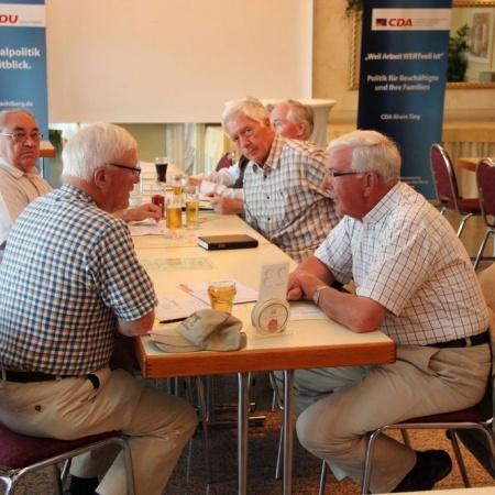 Mitgliederversammlung mit Delegiertenwahlen (Juli 2013)
