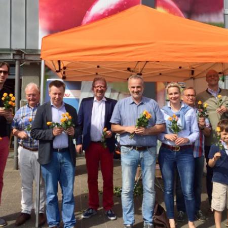 Ein Gruß an alle Mütter und die, die es noch werden wollen - CDU überrascht mit frühlingshaftem Dankeschön