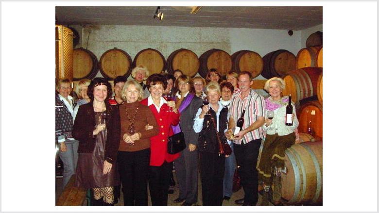 Weinprobe der Frauen Union in Dernau