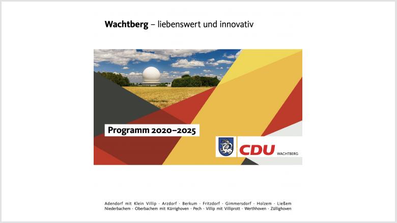 Wachtberg - liebenswert und innovativ